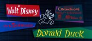 A Walt Disney Donald Duck (CinemaScope Variant)