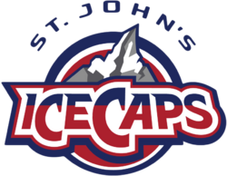 St John's IceCaps logo (introduced 2015)