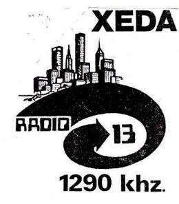 Radio 13 XEDA-AM 1990