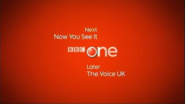 BBC One The Voice Coming up Next bumper