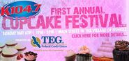 WSPK-FM's K104's 1st Annual Cupcake Festival Promo For May 6, 2012