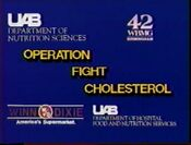 WBMG-TV 42 Operation Fight Cholesteral for August 1991