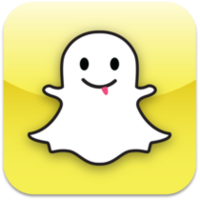 210px-Snapchat logo