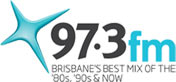 97.3 Brisbane logo