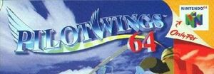 Pilotwings 64 box