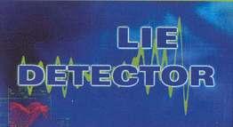 Lie detector logo