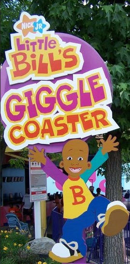 Little Bill's Giggle Coaster logo