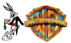 WARNER BROS. FAMILY ENTERTAINMENT 1991 STANDARD PRINT LOGO