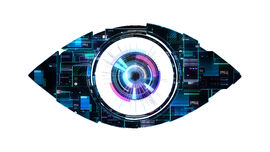 Big Brother 15 - 2014 - Eye Logo - HQ - White Background
