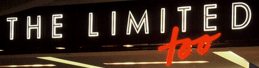 Limited Too 90s logo