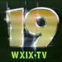 WXIX - Channel 19, Cincinnati, OH - ID Sat. Movie Intro - from 1983!