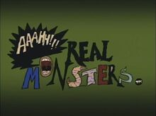 Real Monsters title card
