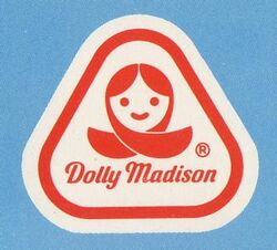 Original logo used by Dolly Madison bakeries, in the 1970's thru the early 1980's