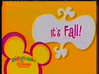 Playhouse disney id it's fall