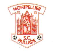 Montpellier Paillade SC logo (1982-1983)