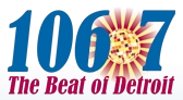 WDTW-FM The Beat 1067 logo