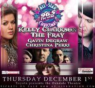 WEZN-FM's Star 99.9's All-Star Christmas Concert Promo For December 1, 2011