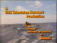 CBS Television Network Hawaii Five-O 1970s