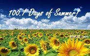 WHUD-FM's 100.7's 100.7 Days Of Summer Promo From Late May 2012