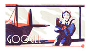 Google Jean Batten's 107th Birthday