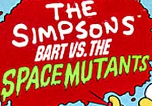 Bart vs. The Space Mutants logo