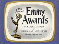 13th Primetime Emmy Awards poster
