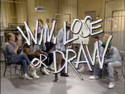 Win, Lose or Draw In Living Color