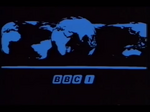 BBC1 1972 Ident for Black & White