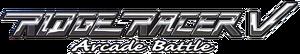 Ridge racer v arcade battle logo by ringostarr39-d7pe9tj