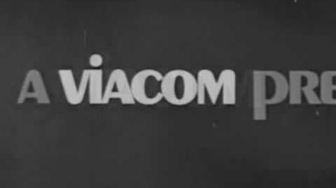 Viacom Pinball Logo (1971) B&W Version