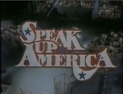 Speak Up America