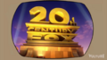 20th Century Fox logo on TV