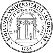 Seal of the University of Georgia