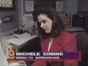 WBRC-TV FOX 6 News promo of Michelle Cimino in 1996