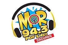 MOR 94.3 Dagupan new logo