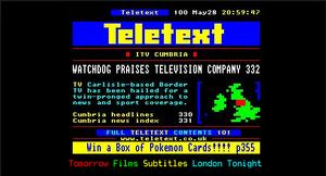 ITV Teletext