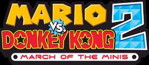 Mario vs Donkey Kong 2 logo