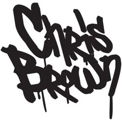 Chris Brown FAME era logo