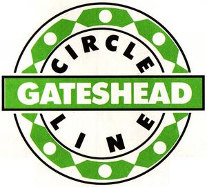 GAN Gateshead Circle Line logo 1991