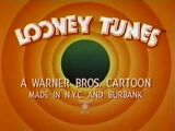 Bugs Bunny Invasion Of The Bunny Snatchers IATSE Credits