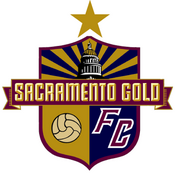 Sacramento Gold FC logo (one gold star)