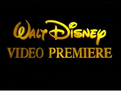 Walt Disney Video Premiere