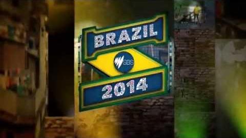 """SBS ONE """"Brazil 2014"""" Ident (June 2014)"""