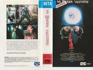My Bloody Valentine - Rigby-CIC Betamax Sleeve