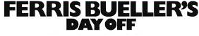 Ferris buelers day off logo