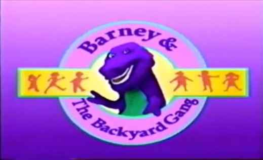 Image - Barney and the Backyard Gang title screen.jpg ...