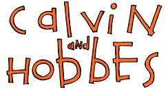 Calvin and hobbes logo