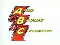 Abbey Broadcast Communications Logo 1990