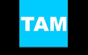 Logo de TAM 1995-1998