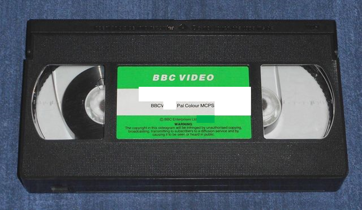 BBC Video 1985-1990 VHS Template